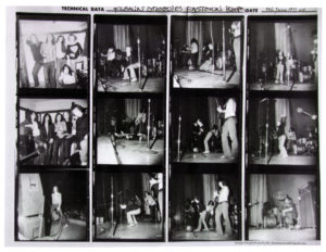 Flamin' Groovies 5 June 1971 Easttown Theatre. Thanks to Dennis Loren and the facelessmaniak.com