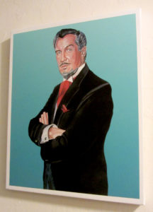 Vincent Price Portrait By Cyril Jordan